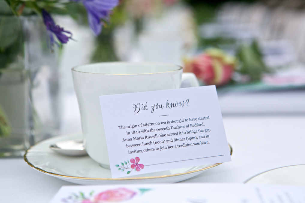 Champneys Afternoon Tea Launch Afternoon Tea History Rebecca Fennell Photography