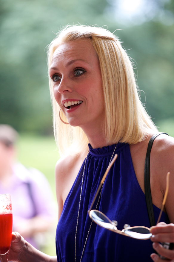 Champneys Afternoon Tea Launch Camilla Dallerup